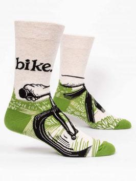 Männer Socken Bike von Blue Q