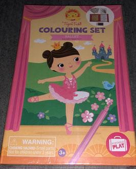 Colouring Set Ballett