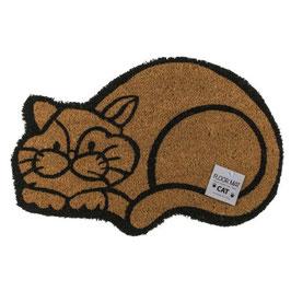 Fussmatte Katze