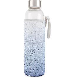 Trinkflasche aus Glas 0,6l