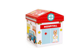 Scratch Europe Hospital Play Box 2 in 1