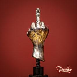 The FUCKYOU HAND - WACKY WOBBLER -CHROME-