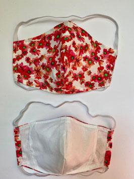 Maske mit Tasche für Filter 164 F