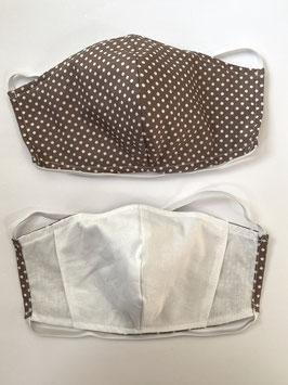 Maske mit Tassche für Filter 191 F