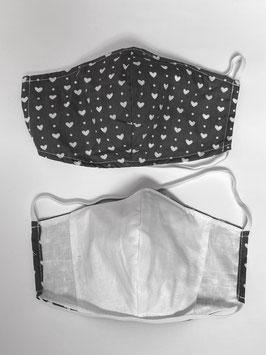 Maske mit Tasche für Filter 197 F