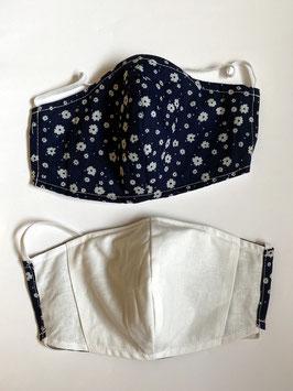 Maske mit Tasche für Filter 195 F