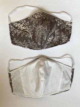 Maske mit Tasche für Filter 196 F