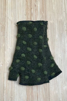 Stulpen Daumen kurz HWDK-44-grün