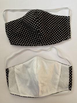 Maske mit Tasche für Filter 192 F
