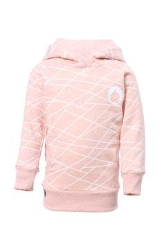 Guttellino Hoodie Sweat Rosa Linien