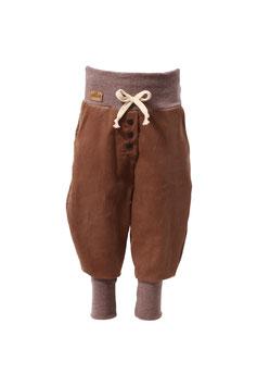 Guttellino Hose Feincord Braun Taschen Kordel