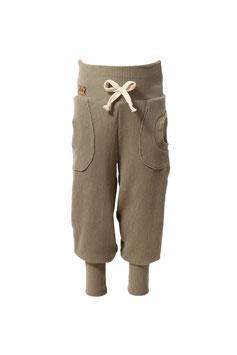 Guttellino Hose Rib Jersey Graugrün Taschen Kordel