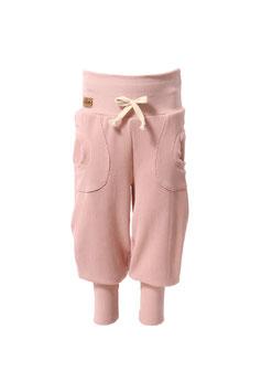 Guttellino Hose Rib Jersey Rosa Taschen Kordel