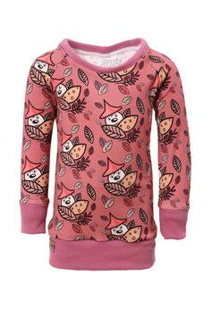 Guttellino Shirt Langarm Print Jersey Mauve