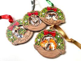 Weihnachtsanhänger: verschiedene Designs