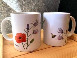 Tasse: Blumenwiese