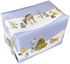 Geschenkverpackung: Weihnachten