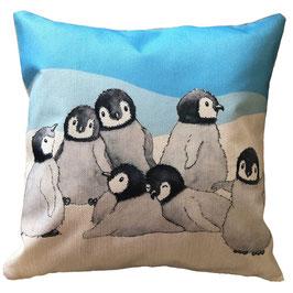 Kissenbezug: Pinguingruppe