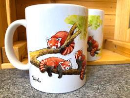 Tasse: Roter Panda