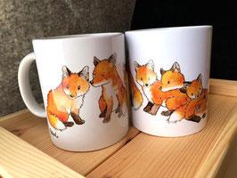 Tasse: Fuchsgruppe