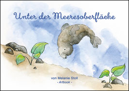 "Artbook ""Unter der Meeresoberfläche"", inkl. Original-Illustration"