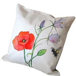 Kissenbezug: Blumenwiese