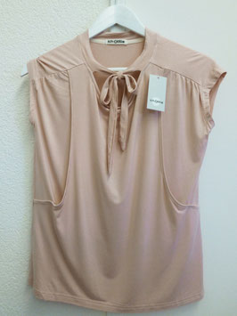Modal-Bluse mit Schleife