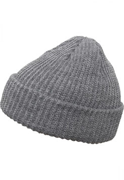 Rib Beanie - heather grey
