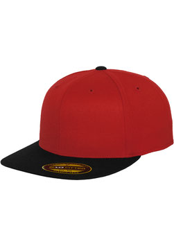 Premium 210 Fitted 2-Tone - red/black