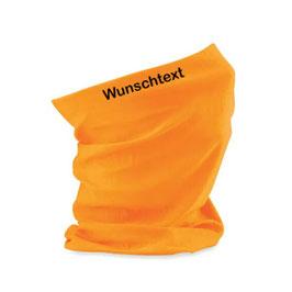 """Beechfield Morf® bedruckt - """"Wunschtext"""" - Fluorescent Orange"""