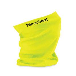 """Beechfield Morf® bedruckt - """"Wunschtext"""" - Fluorescent Yellow"""