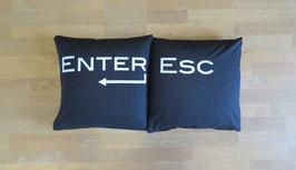 Kissenset - ESC Enter - Modern
