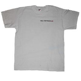 multistrada.eu-Shirt weiß