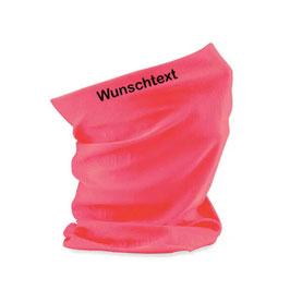 """Beechfield Morf® bedruckt - """"Wunschtext"""" - Fluorescent Pink"""