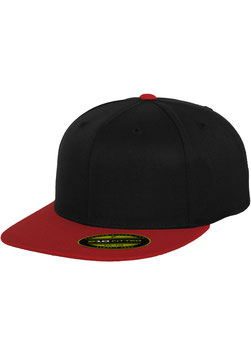 Premium 210 Fitted 2-Tone - black/red