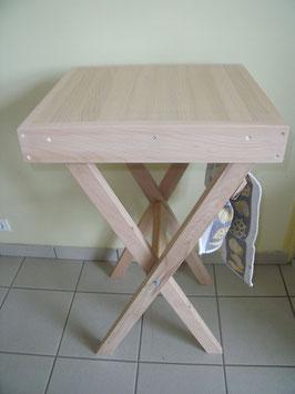 Table à découper pliante