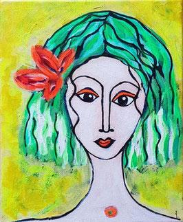 Amazonenfrau