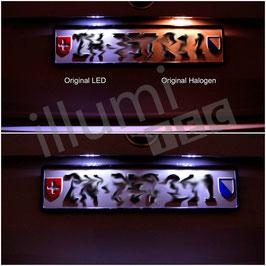 Octavia 5E Original Kennzeichenleuchten
