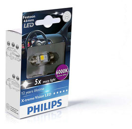X-treme Vision LED Soffitte 43mm 6000K