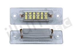 Kennzeichenbeleuchtung für VW Caddy Bj. 04-14