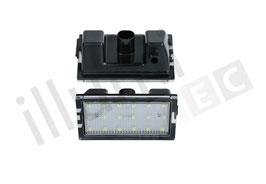LED Kennzeichenbeleuchtungs Set Range Rover Sport Bj.:05-13
