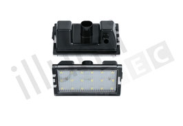 LED Kennzeichenbeleuchtungs Set Land Rover Discovery 3