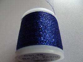 Madeira Stickgarn Metallic Glitzer Blau