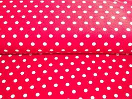 Jersey Punkte rot weiß Stenzo
