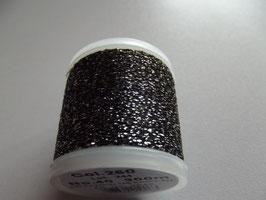Madeira Stickgarn Metallic Glitzer Grau