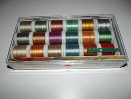 Madeira Stickgarn Polyneon Multicolor Set