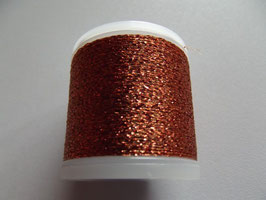 Madeira Stickgarn Metallic Glitzer Orange