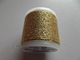 Madeira Stickgarn Metallic Glitzer Gelbgold