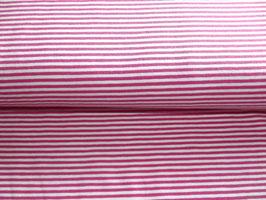 Stenzo Ringel Jersey Streifen pink weiß