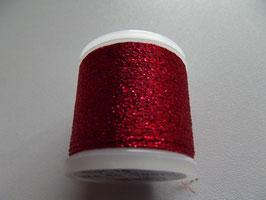 Madeira Stickgarn Metallic Glitzer Rot